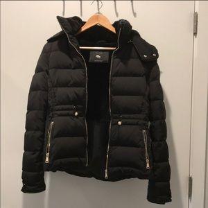 Zara down coat